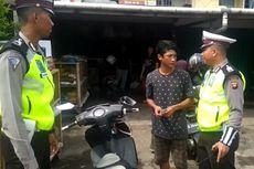 Tak Senang Ditilang, Pemuda Ini Cekcok dengan Polisi, Sebut Tak Gunakan Helm karena Rumah Dekat