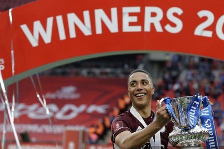 Pahlawan Leicester City di final Piala FA 2021, Youri Tielemans.