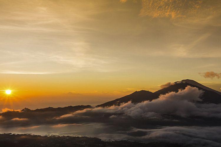 Sunrise di Gunung Batur