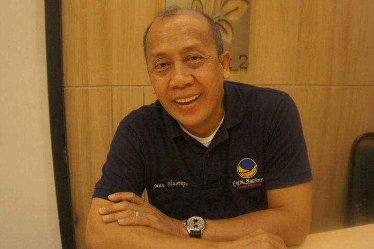 Ketua DPW Nasdem Jabar Saan Mustofa.