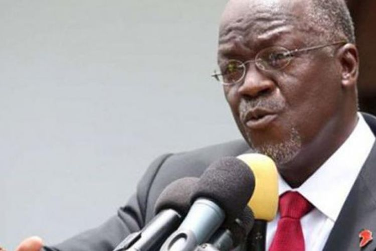 Presiden Tanzania John Pombe Magufuli