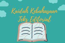 Kaidah Kebahasaan Teks Editorial