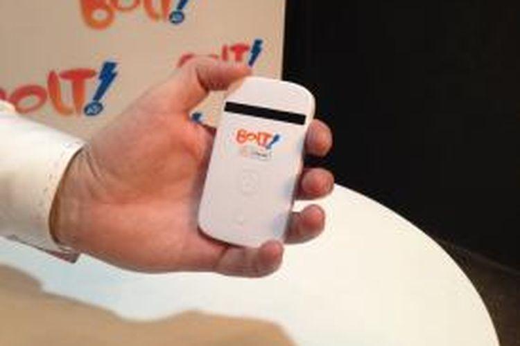 Perangkat Mobile Wi-Fi Bolt dari Internux yang menawarkan akses internet 4G LTE