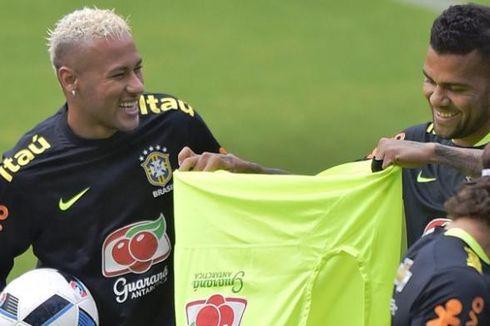 Gantikan Neymar, Dani Alves Jadi Kapten Brasil di Copa America
