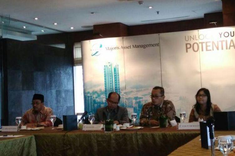 PT Majoris Asset Management meluncurkan produk reksa dana berbasis saham syariah, di Jakarta, Jumat (10/2/2017).