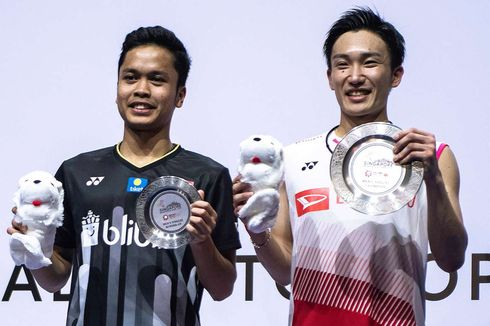 Kento Momota Manfaatkan Kelelahan Anthony di Final Singapore Open 2019