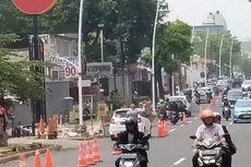 Mulai Hari Ini, Rekayasa Lalu Lintas di Jalan Kemang Raya Diberlakukan