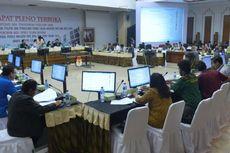 KPU Tunda Pengesahan Rekapitulasi Suara Maluku Utara