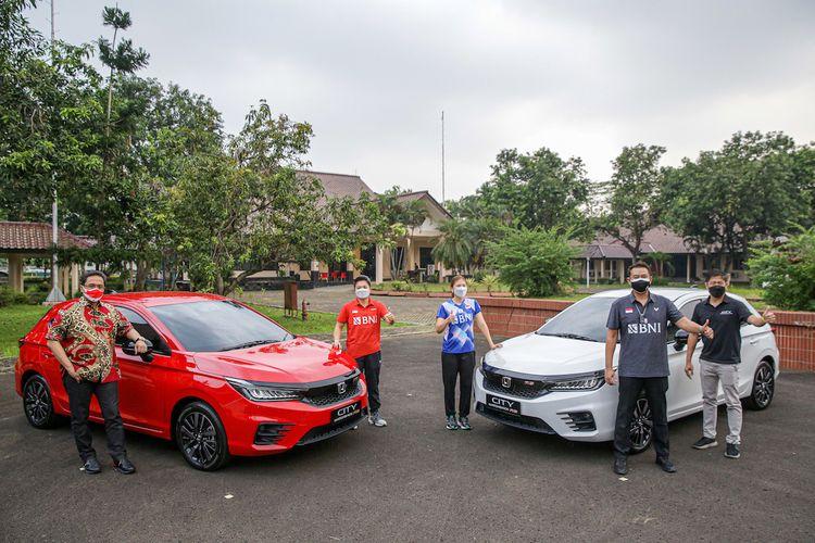 City Hatchback RS resmi jadi milik Greysia Polii dan Apriyani Rahayu