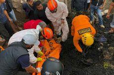 Pedagang Bakso Tewas Tertimbun Muatan Truk Batu Bara di Sumedang