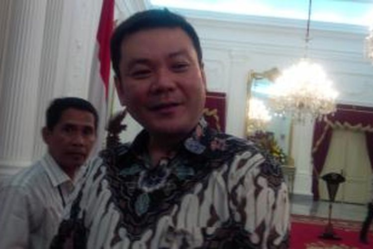 Kepala Badan Restorasi Gambut Nazir Foead
