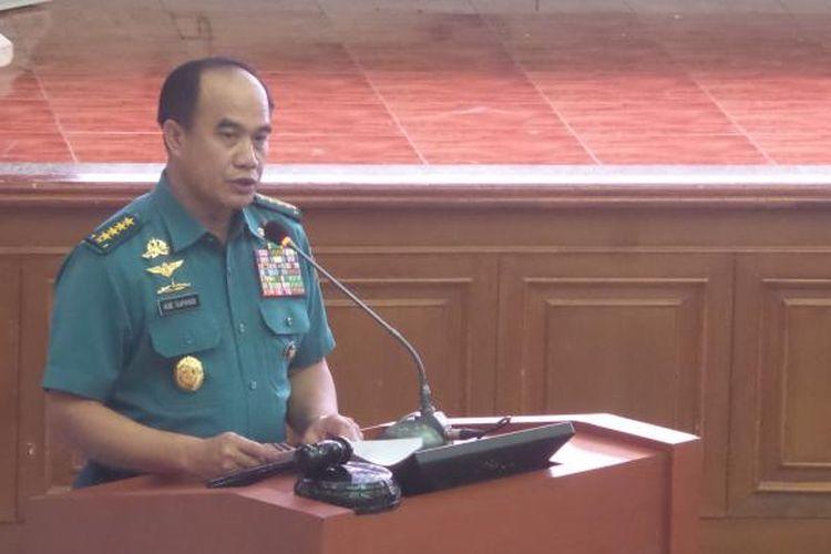Kepala Staf TNI Angkatan Laut Laksamana Ade Supandi.