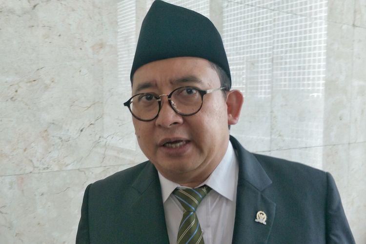 Wakil Ketua DPR Fadli Zon di Kompleks Parlemen, Senayan, Jakarta, Kamis (22/8/2019).