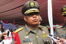 Satpol PP Garuk Pedagang Kopi di Sekitar Kantor Jokowi