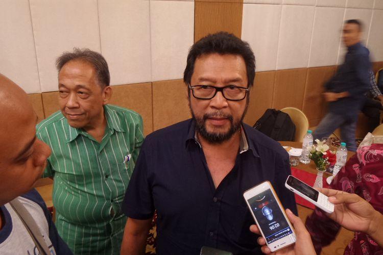 Politisi Golkar Yorrys Raweyai saat ditemui di Hotel Puri Denpasar Jakarta, Minggu (7/5/2017).
