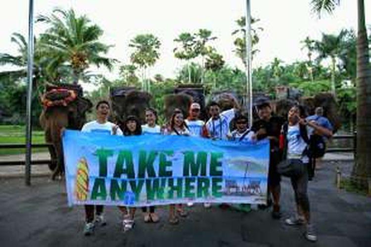 Peserta liburan gratis ke Bali