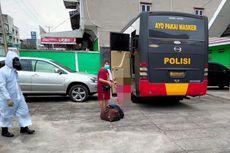 Puluhan Pasien Isoman di Jambi Dijemput Polisi