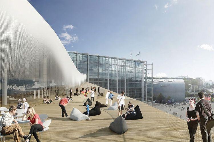 Helsinki Central Library atau yang juga disebut dengan Oodi rencananya akan dibuka pada Desember 2018.