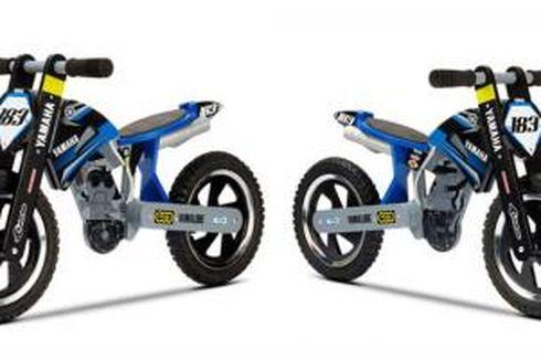 """Sepeda """"Supermoto"""" Yamaha untuk Melatih Keseimbangan Anak"""