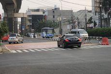 Hari Pertama Ganjil Genap, Banyak Mobil Berpelat Genap Lintasi Jalan Fatmawati