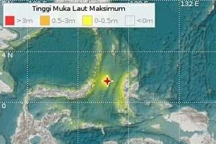 Gempa tektonik M 7,1 mengguncang wilayah Maluku Utara pada Kamis, (14/11/2019) pukul 23.17.41 WIB. BMKG sempat mengeluarkan peringatan waspada tsunami, yang kemudian dinyatakan berakhir pada Jumat (15/11/2019) pukul 1.45 WIB.