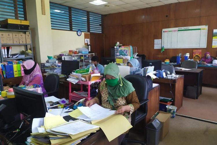 Kegiatan ASN di Kantor Pemkot Magelang