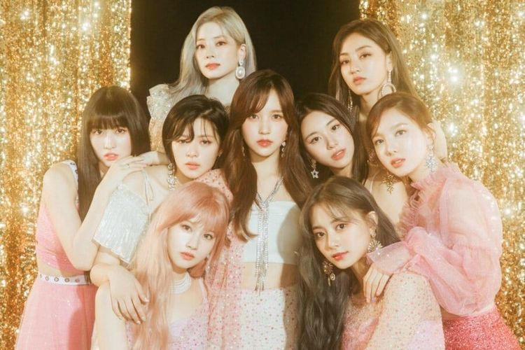 Girlband TWICE asuhan JYP Entertainment.