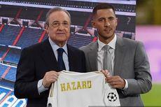 Hazard Minta Nomor 10 ke Modric, tetapi Tak Dikasih