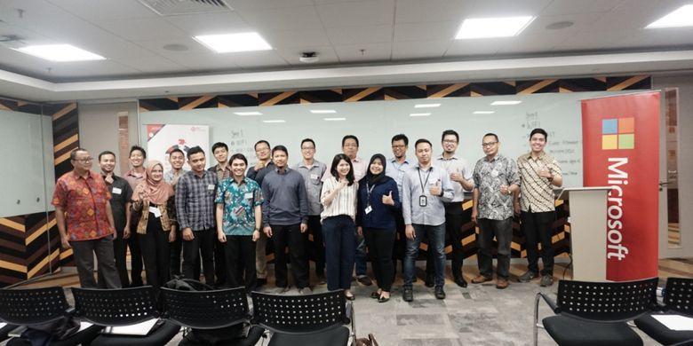 Kerjasama DQLab dan Microsoft Indonesia