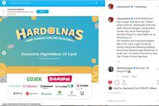 Gelar Hardolnas, Kitabisa.com Libatkan 200