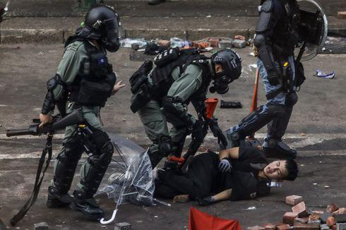 Pemerintah Hong Kong Sebut 600 Demonstran Menyerah kepada Polisi