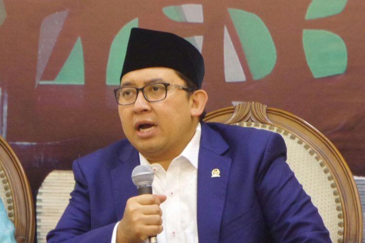 Wakil Ketua DPR RI Fadli Zon di Kompleks Parlemen, Senayan, Jakarta, Kamis (24/8/2017).