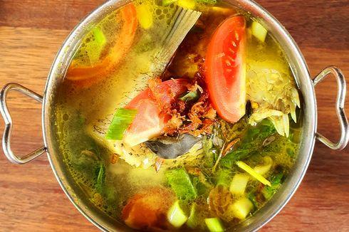 Resep Sop Ikan Kakap Kuali Asam, Menu Buka Puasa 2 Langkah Masak