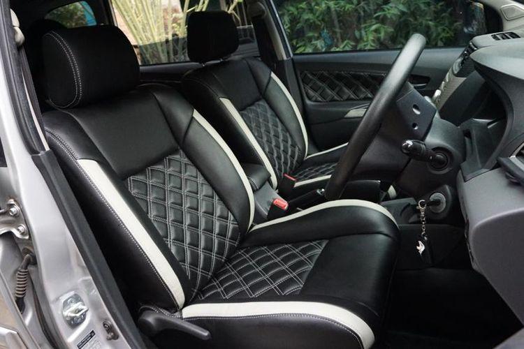 Interior Toyota Avanza yang telah menggunakan bahan pelapis MBTech