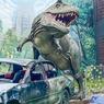 Restoran Mie T-Rex di Malang, Makan dengan Nuansa Jurrasic Park