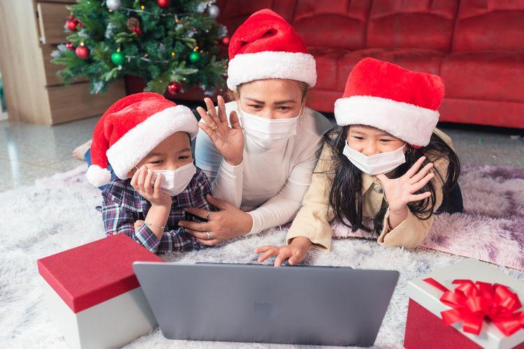 Ilustrasi liburan di masa pandemi