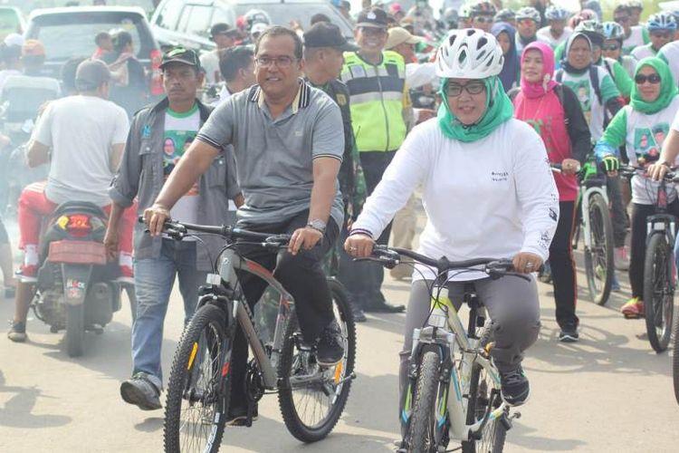 Festival Pancakarsa yang menjadi agenda rutin kampanye pasangan Calon Bupati dan Wakil Bupati Bogor Ade Yasin dan Iwan Setiawan