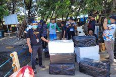 KKP Lepasliarkan 21.000 Benih Lobster Sitaan Selundupan ke Vietnam