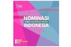 AMI Awards 2020 Siap Digelar, 2.971 Karya Musik Diseleksi