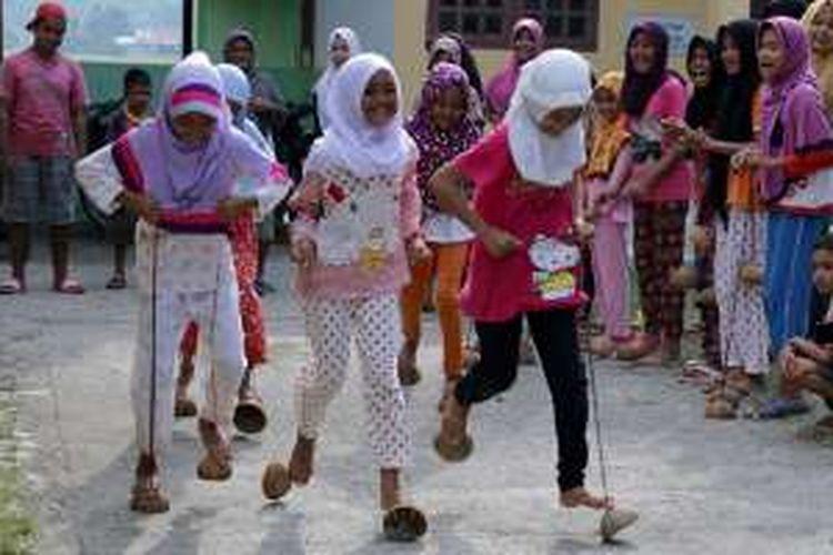 Menghidupkan Permainan Tradisional Di Aceh Halaman All Kompas Com