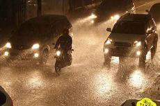 Prakiraan Cuaca BMKG: Jabodetabek Hujan Hari Ini