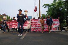 Bertahan 2 Jam, Unjuk Rasa Front Mahasiswa Bekasi Bubar dengan Tertib