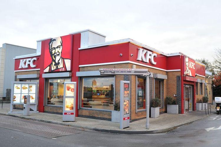 Salah satu gerai KFC di Inggris.
