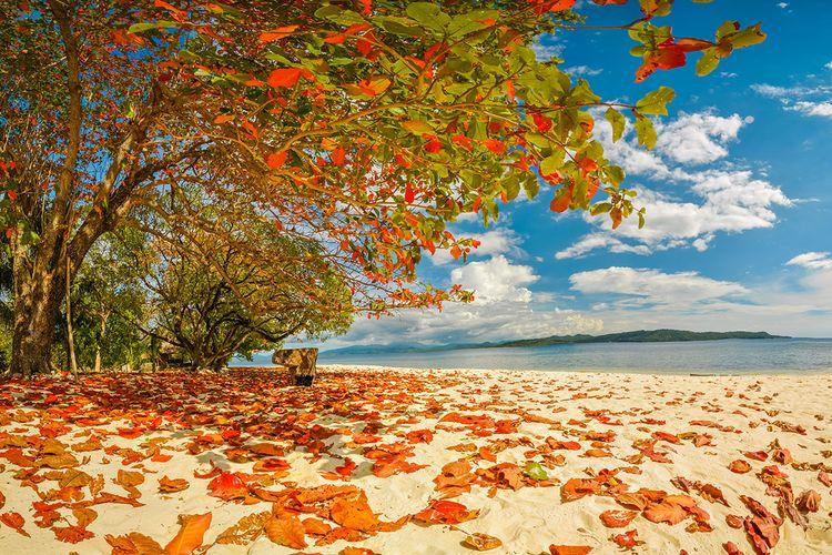 Pulau Lihaga di Manado, Sulawesi Utara.