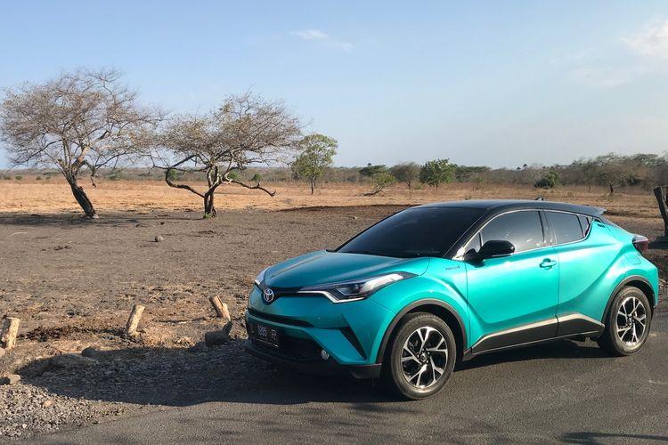Toyota C-HR Hybrid jadi model berteknologi hibrida pertama yang terjual di Banyuwangi.