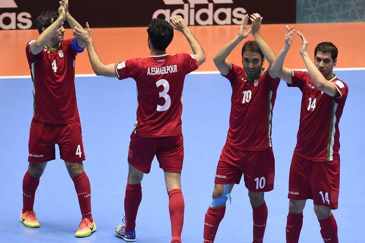Skuad timnas Iran pada Piala Dunia Futsal 2016.