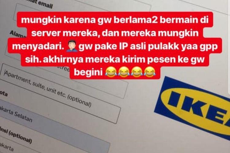 Beredar Iklan Penipuan Ikea Di Ig Stories Ini Kata Instagram Halaman All Kompas Com