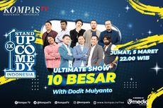 10 Besar SUCI IX, Para Komika Akan Impersonate dan Hadirkan Dodit Mulyanto