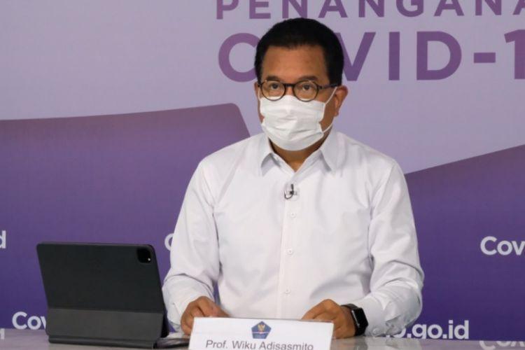 Juru Bicara Satuan Tugas Penanganan Covid-19 Wiku Adisasmito