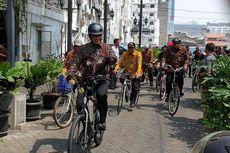 Pegawai Dinas LH DKI Wajib Naik Sepeda atau Angkot ke Kantor Setiap Jumat